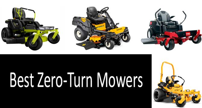 Best Zero Turn Mowers: photo