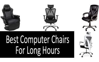 Best computer chair for long hours min: photo