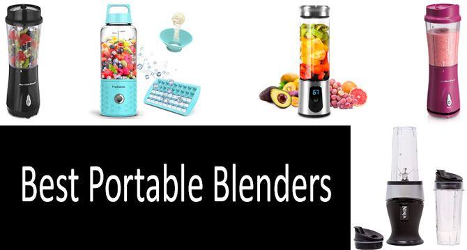Best portable blenders: photo