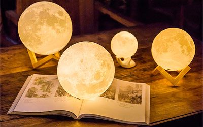Best Moon Lamps for Relaxation min: photo