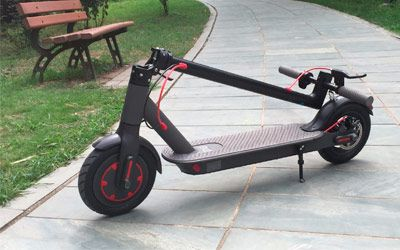 Best folding electric scooters min: photo
