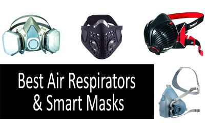 Best air respirators & smart masks min: photo