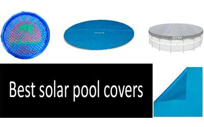 Best solar pool covers min: photo
