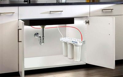 Best under sink water filters min: photo