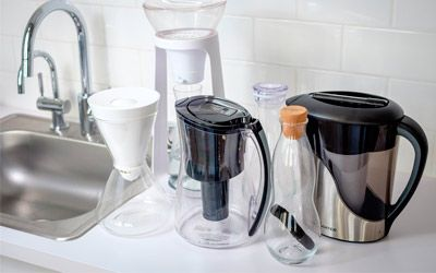 Best water filter pitchers min: photo