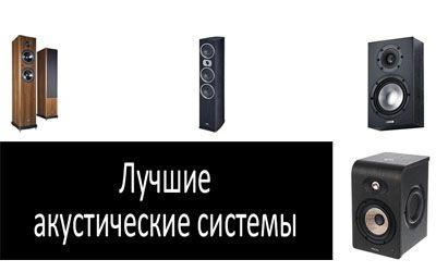 Лучшие акустические системы min: фото