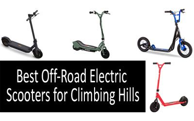 Best Off-Road Electric Scooters min: photo