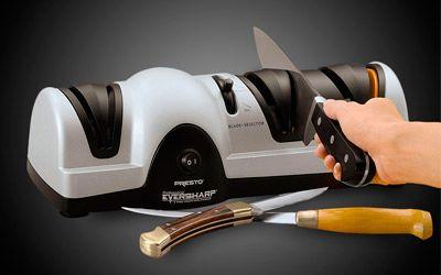 Best electric knife sharpeners min: photo
