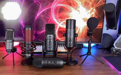 Best microphones for streaming min: photo
