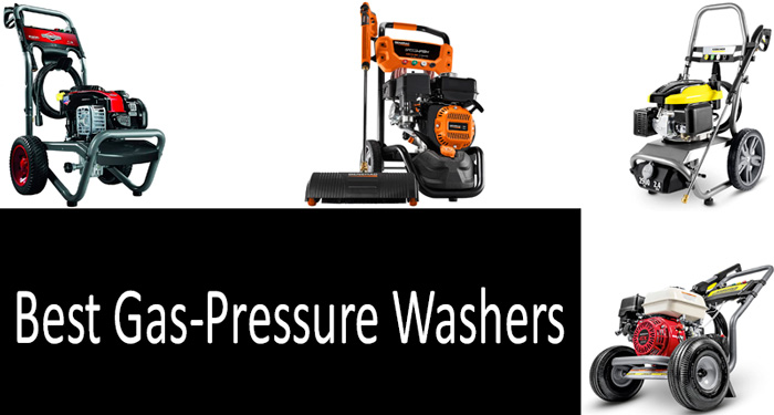 X-BULL Gas Pressure Washer Kit 6.5HP 210cc Washer Pressure System with Power Spray Gun,65ft Flex Hose and 5 Nozzles,OHV 4-Stroke Easy Start