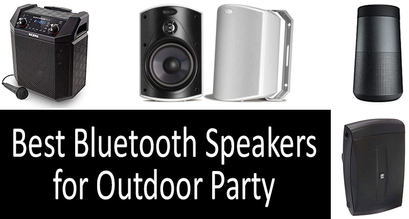 Best Bluetooth Speakers For Outdoor Party 2021 Buyer S Guide In Canada