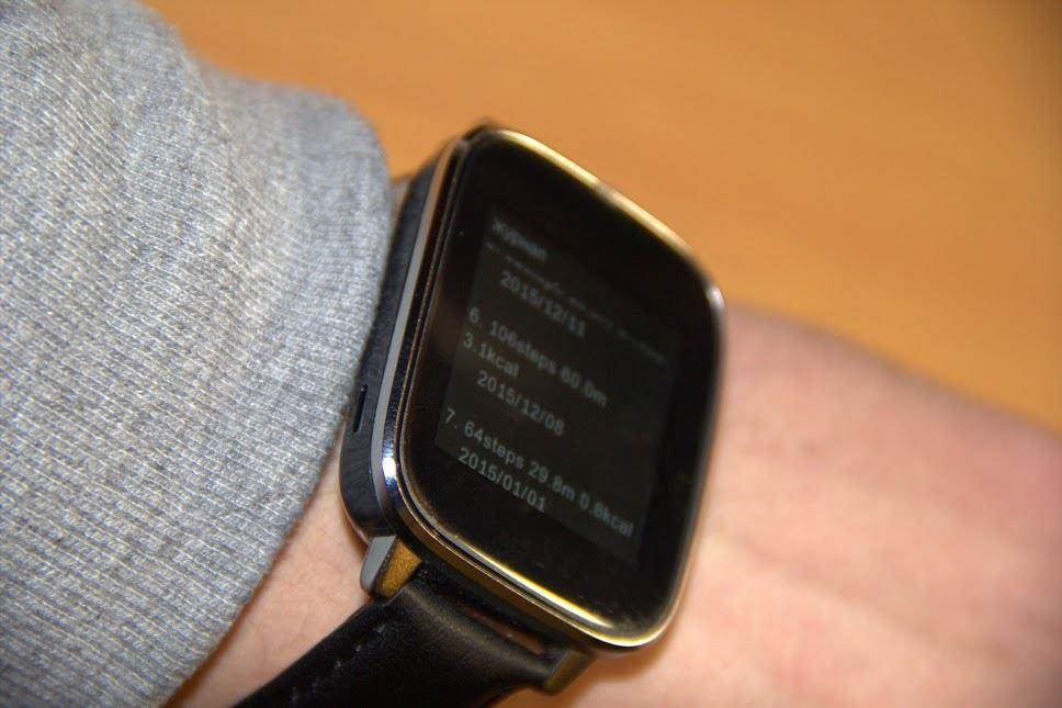 a pedometer in the Zeblaze Crystal Smart Watch