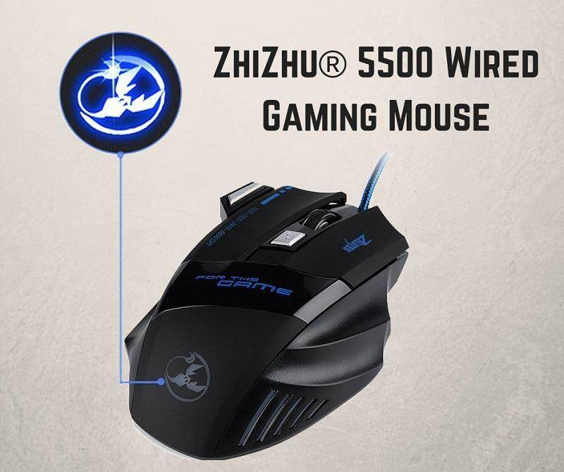 ZhiZhu 5500 wired gaming mouse